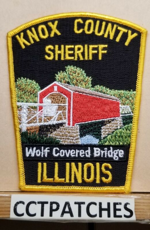 KNOX COUNTY, ILLINOIS SHERIFF (POLICE) SHOULDER PATCH IL