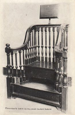 DUBLIN ( Ireland) : Penitent's Chair,St Michan's Church,Dublin RP-GODSON