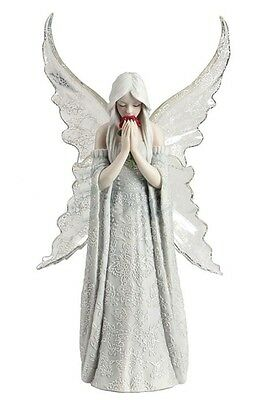 """10.25"""" Anne Stokes ONLY LOVE REMAINS Gothic Statue Sculpture Figure Fantasy"""