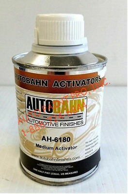 Clear Coat Car Paint - Autobahn AH-6180 Activator Diamond clear coat like Restoration Auto Car paint