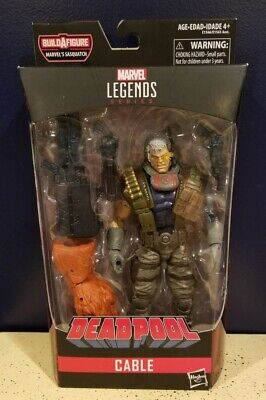 "Marvel Legends - CABLE - Sasquatch Wave - 6"" X-Men, Deadpool, MOC"