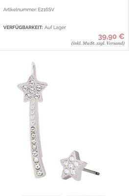 Silber Kinder-jeans (NEU Pippa&Jean KIND LITTLE STAR Earrings UVP39,90€ ✅Ohrringe)