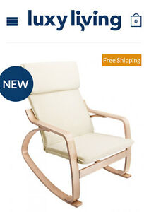 Bentwood fabric rocking armchair Perth Perth City Area Preview