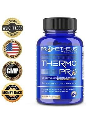 Thermo PRO Best Thermogenic Fat Burners for Men & Women Lose Weight Loss Fast