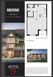 **Welcome Home** Brand New 3bdr, 3bath Townhouse in Ancaster