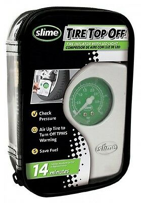 Slime 40020 Tire Top Off Inflator, New, Free Shipping