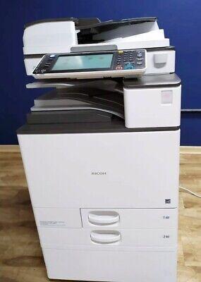 Ricoh Aficio Mp C2503 A3 Color Laser Copier Printer Scanner Mfp 25 Ppm Mp C2003