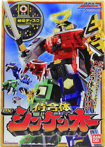 Power Rangers Samurai Sentai Shinkenger DX Shinken-Oh Super Megazord