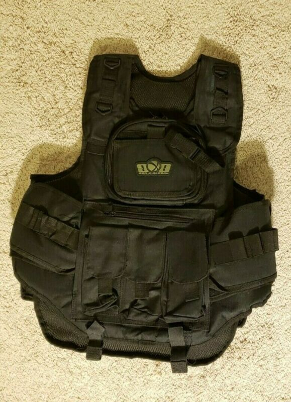Used Gen X Global Paintball Vest Black