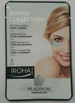 Divine Collect Iroha Nature Divine Platinum Foil Eye Patches Extra Glowing