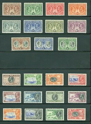 CAYMAN : Beautiful collection all Mint OG & in Very Fine Condition. SG Cat £705.