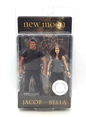 """NECA Twilight 7"""" Inch Movie Figures New Moon Jacob & Bella"""