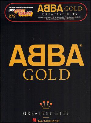 ABBA Gold Greatest Hits Songbook Noten für Keyboard sehr leicht