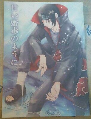 ✿ Amai Mitsudoku no you ni by MUTSUMIX ✿ Naruto BL (Itachi x Sasuke) Doujinshi ✿