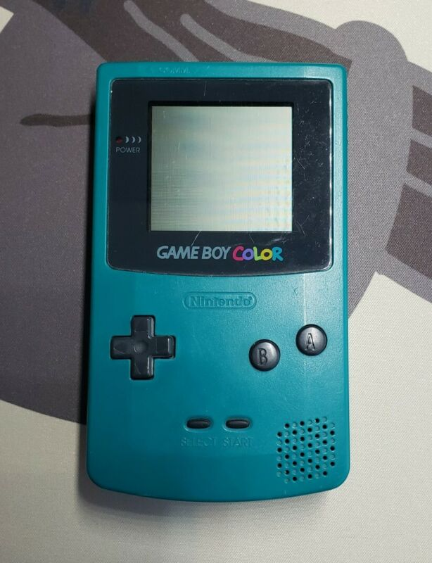 Nintendo Game Boy Color Handheld Game Console - Teal