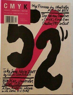 CYMK Magazine #52 ART Design SPARK a Fire ILLUSTRATOR Create INSPIRE Showcase