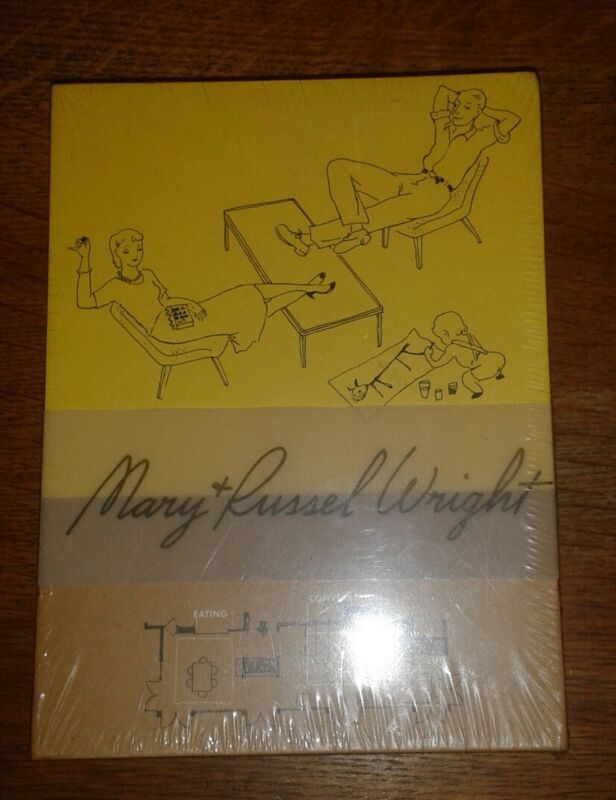 Russel Wright Guide to Easier Living 20 Blank Note Cards NIP