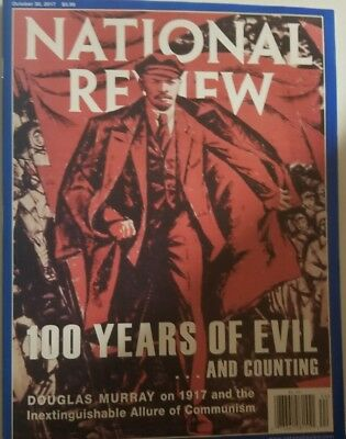 National Review October 2017 100 Years Of Evil And Counting  Free Shipping