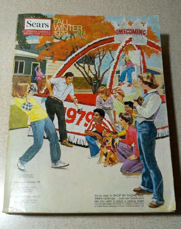 Vintage 1979 Sears Fall Winter Catalog