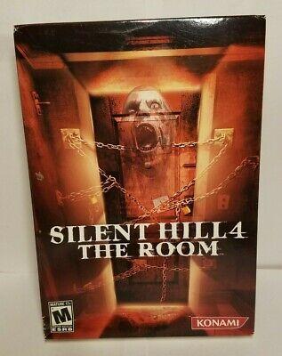 NEW SEALED Silent Hill 4: The Room for Windows XP/2000 PC DVD-ROM 2004  comprar usado  Enviando para Brazil