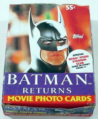 1992 Topps Batman Returns Trading Card Box (36 Packs)