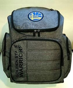 RARE SAMPLE GOLDEN STATE WARRIORS BACKPACK GREY NBA BAG STEPH CURRY KEVIN DURANT