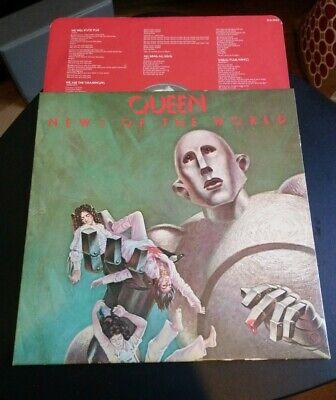 Queen News Of The World EMA 784 OC 064 60033 1977 Gatefold