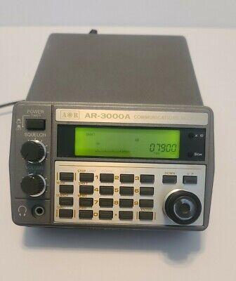 AOR AR-3000A Communications Receiver w/manual