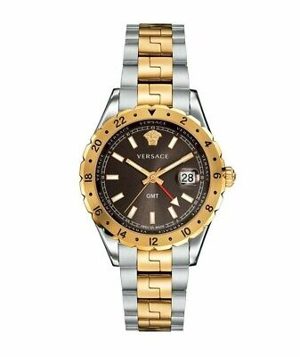 Versace Men's Hellenyium GMT Two-tone Swiss Made Watch V11040015