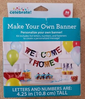 Make Your Own Banner Personalize 4.25