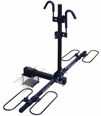 "Rv Motorhome Bike Platform Rear Rack Carrier Fits 2"" Receiver or Bumper Mount"