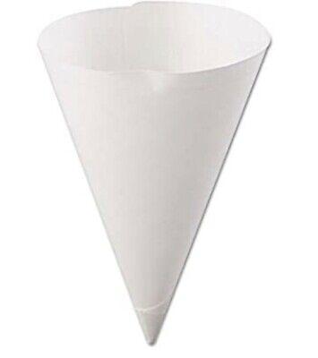 Sno Cone Cups Water Cone Cups 7 Ounce No Rim Case Of 5000