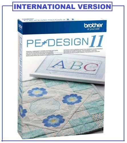 PE DESIGN 11 - Embroidery Software + FREE GIFT ⭐FULL VERSION⭐