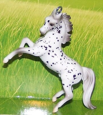 CustomMade Breyer Stablemate Rearing Leopard Appaloosa Horse Christmas Ornament