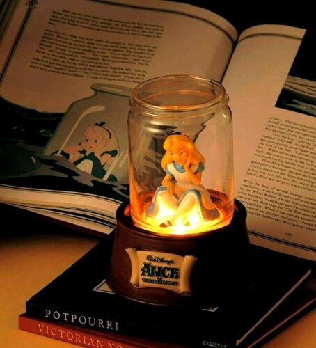 Disney Store Japan Alice in Wonderland Bottle Room lamp light ornament Very rare