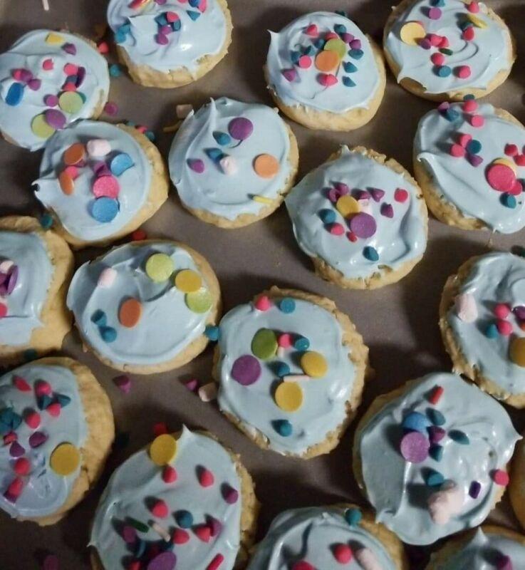 2 Dozen Homemade sugar cookies