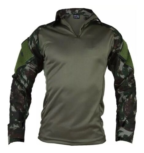 Brand New brazilian army Combat Shirt all sizes Brazil forest camo