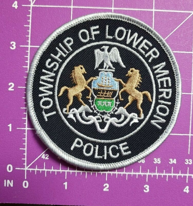 Township of Lower merion Pannsylvania Police-shoulder patch