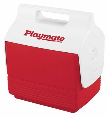 Igloo 6-Can Capacity Mini Playmate Cooler, Imported, Red