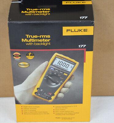 Fluke 177 Esfp True Rms Digital Multimeter - Free U.s. Shipping