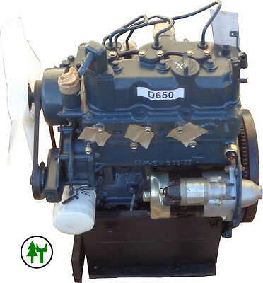 Dieselmotor Motor Kubota D650 14,3PS 675ccm gebraucht BHKW Diesel - Kubota Diesel Motor