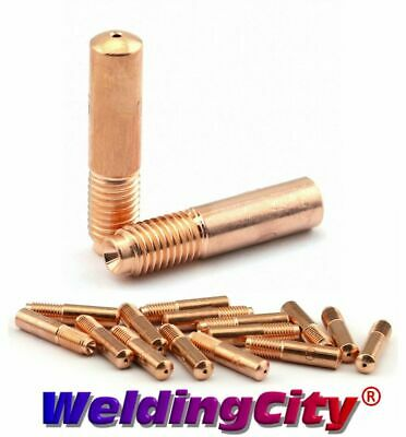 """14 pcs .045/"""" kit MIG Welding Contact Tips Diffuser Nozzle for Miller Hobart"""
