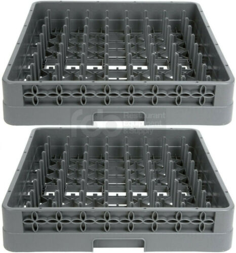 2 PACK Commercial Dishwasher Flatware Peg Cup Glass Plate Tray Dish Washing Rack