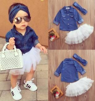Baby Girls 3pc spring sets