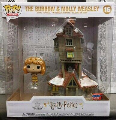 Funko Pop! Harry Potter: Molly Weasley y la madriguera Exclusivo