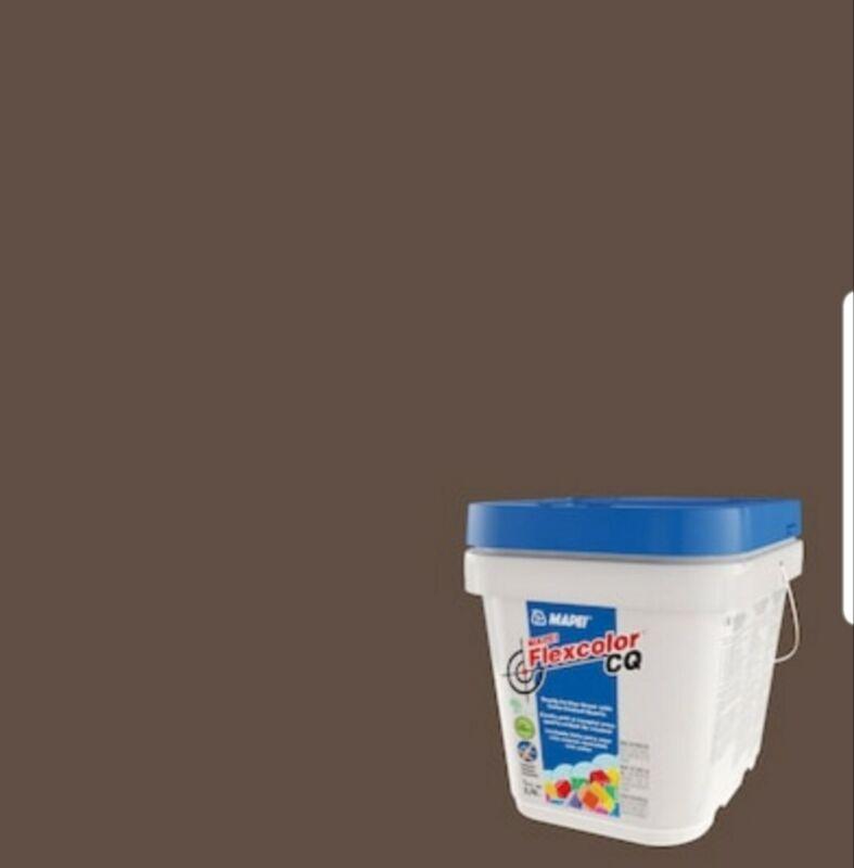 MAPEI Flexcolor CQ 1/2 -Gallon COCOA #79 Acrylic Premixed Grout