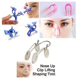 Nose-Up-Right-Bridge-Lifting-Shaping-Straightening-Beauty-Clip-Clipper-No-Pain