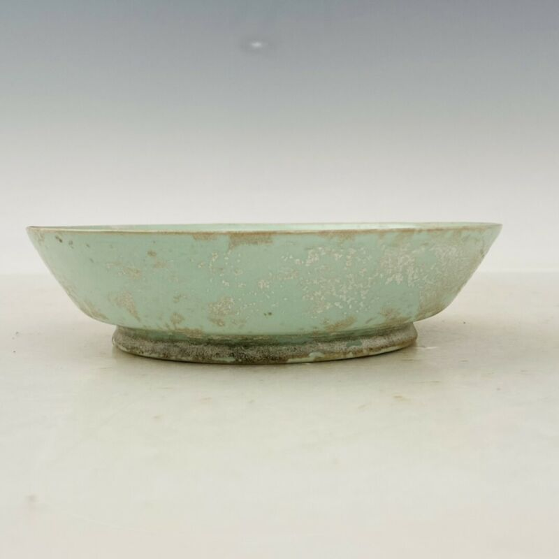 "5.3"" China old antique song dynasty ru kiln luqinzhai mark Porcelain brush wash"