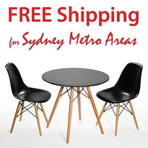 COMBO SALE - Eames Eiffel Table & 2 x Eames DSW Dining Chair Zetland Inner Sydney Preview