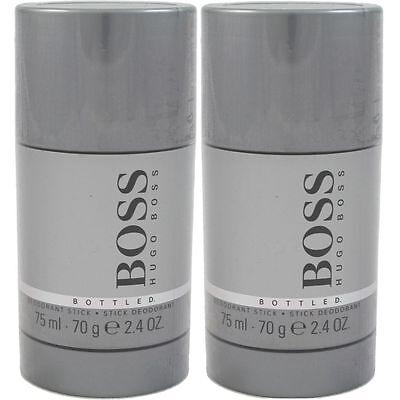 Hugo Boss Boss Bottled 2 x 75 ml Deostick Deodorant Deo Stick Set OVP Neu